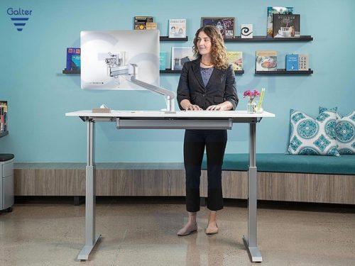 Meble biurowe – biurka z elektrycznie regulowaną wysokością