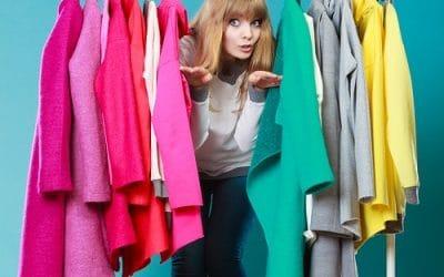 Meble do przechowywania ubrań w biurze