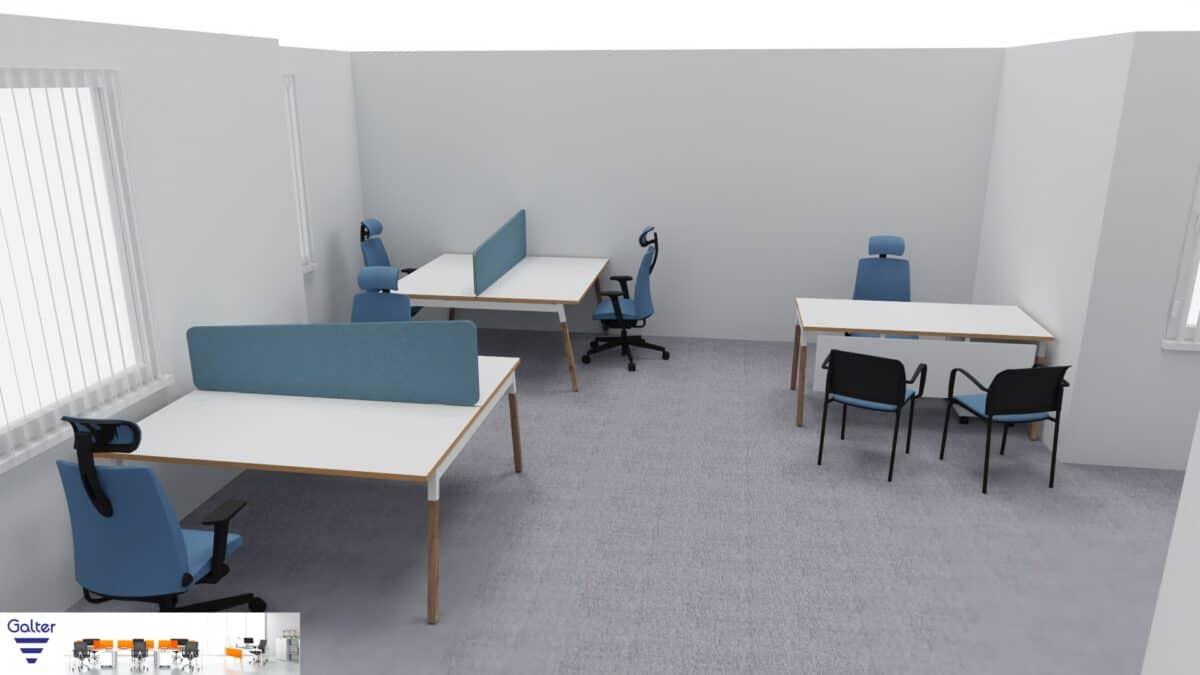 Wizualizacja biura w Poznaniu – przykład