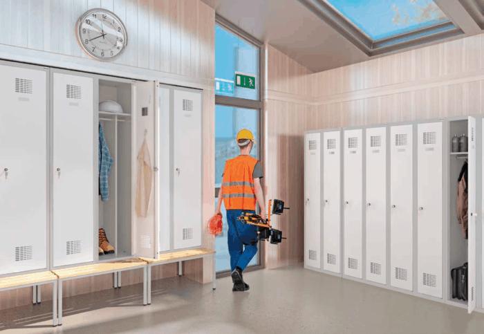 Szafy metalowe, ubraniowe – metalowe szafki dla pracowników