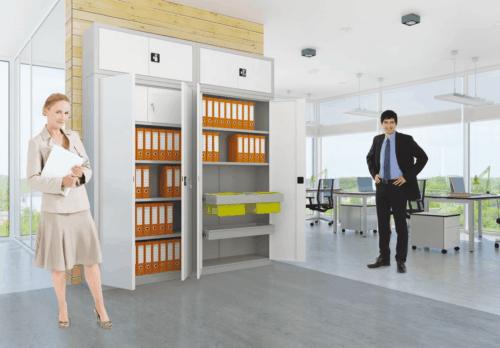 Jak wybrać i gdzie postawić szafy biurowe do bezpiecznego przechowywania dokumentów?