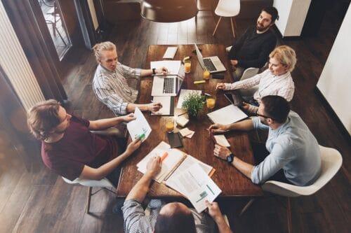 Nowoczesne rozwiązania biurowe w przestrzeni coworkingowej
