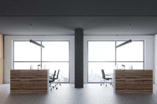 Meble biurowe modułowe – zestawy do szybkiej zmiany miejsca pracy
